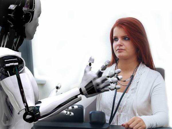 Robot ze spawanego tytanu