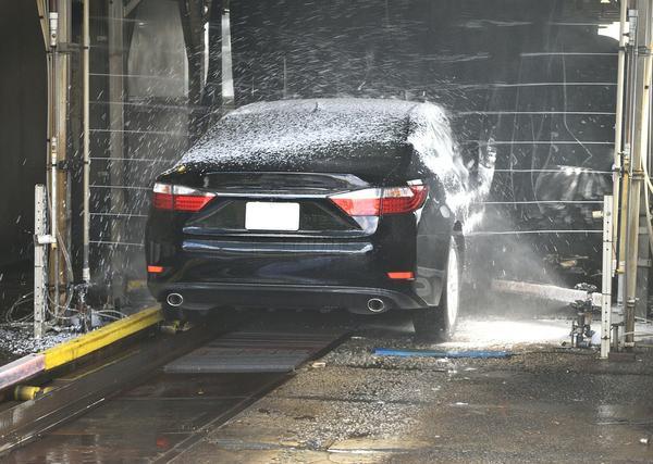 Umyłem auto na myjni samoobsługowej